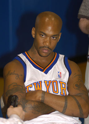 Marbury, pictured, looking like a regular visitor of u-mad.net.