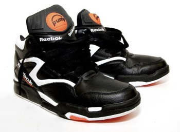 reebok 90s. pump® omni lite mid-cut shoe, nearly identical to zone ii except for printed logos, improved stability system and leather collar. reebok 90s n